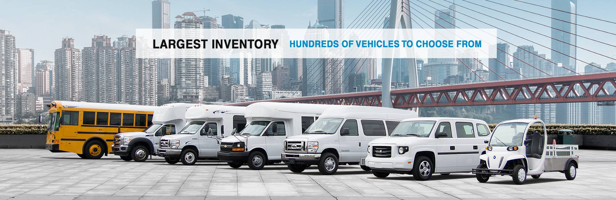 Largest Bus Inventory