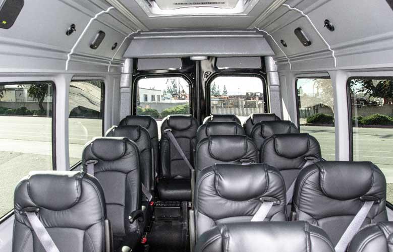 Meridian Sprinter interior